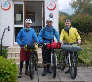 bikepacking youth hostel