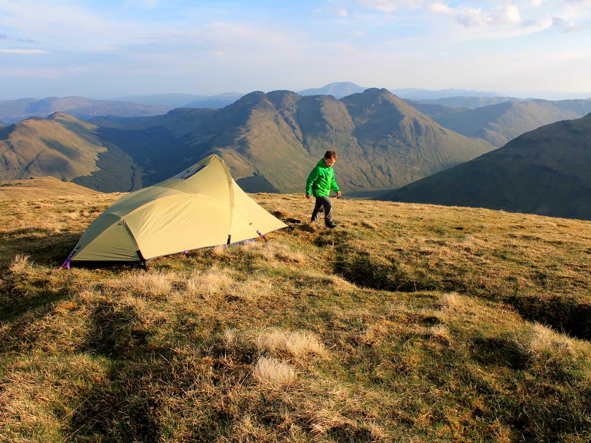 Ridge camping