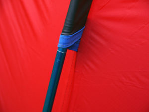 Terra Nova tent detail
