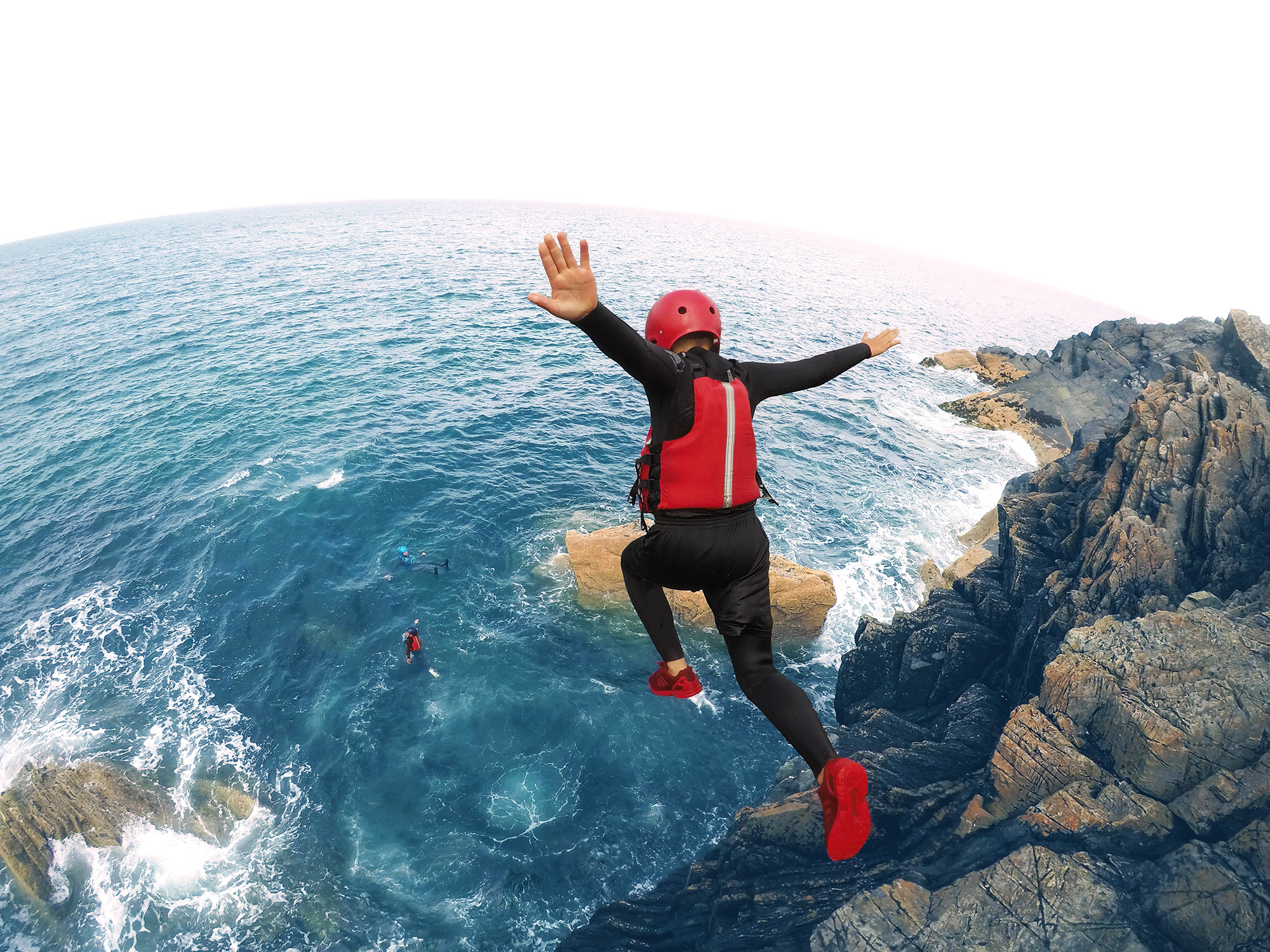 Coasteering in the Isle of Man