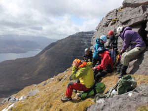 Climbing in Torridon with Hostelling Scotland