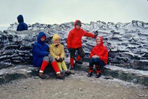 Summit of Helvellyn 1970s