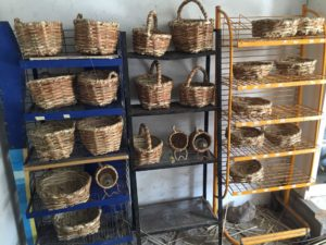 Lanzarote basket maker